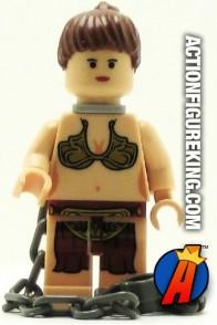 LEGO PRINCESS LEIA JABBA'S SLAVE with Chains Minifigure.