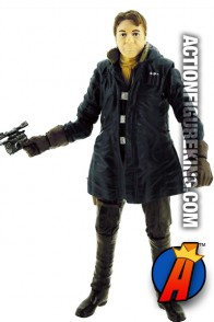 STAR WARS Black Series HAN SOLO in Blue Coat Figure from The Force Awakens.