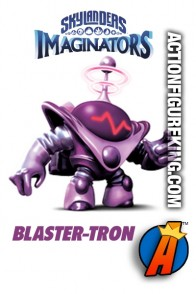2016 Skylanders Imaginators BLASTER-TRON figure is a Light Element.