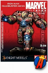 Marvel Universe 35mm scale IRON MAN HULKBUSTER Armor Metal Figure from Knight Models.