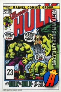 23 of 24 from the 1978 Drake's Cakes Hulk comics cover series.