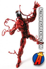 Marvel Legends Carnage action figure from Hasbro.