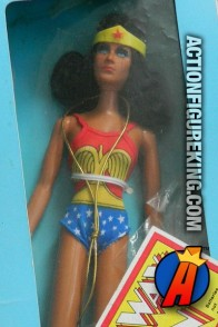 Mego 12-inch scale Wonder Woman action figure.