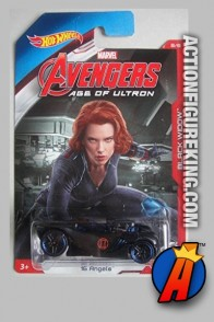 Avengers Age of Ultron Black Widow 15 Angels die-cast vehicle from Hot Wheels.