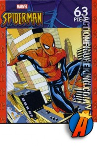 Really nice art on this Rose Art Marvel Spider-Man Swing Time 63 piece puzzle.