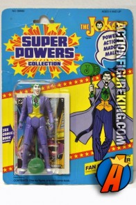 Vintage Kenner Super Powers Joker action figure.