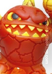Skylanders Spyro's Adventure First Edition Eruptor figure from Activision.