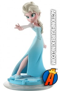 Disney Infinity Elsa gamepiece from the movie Frozen.
