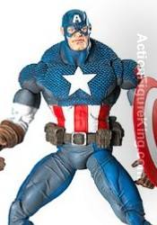 Marvel Legends Series 8 Ultimate Captain America action figure from Toybiz.