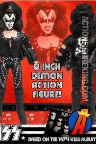KISS Series 2 Self-Titled Debut The Demon (Gene Simmons) Action Figure from by Figures Toy Company.