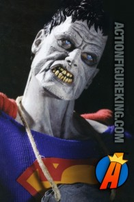 This sixth-scale Bizarro action figure from DC Direct looks a little more like a zombie Superman.