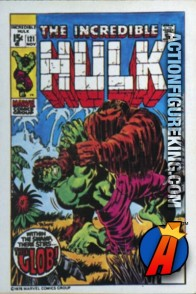19 of 24 from the 1978 Drake's Cakes Hulk comics cover series.