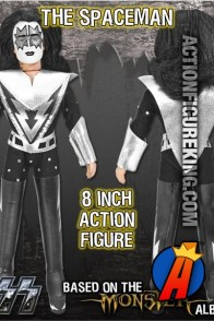 KISS The Spaceman Action Figure from Monster Series 4 by Figures Toy Company.