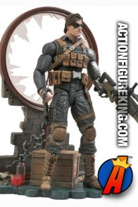 Marvel Select 7-inch scale Winter Soldier action figure from Diamond.