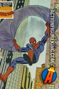 The Rainbow Works The Amazing Spider-Man 100-piece jigsaw puzzle.