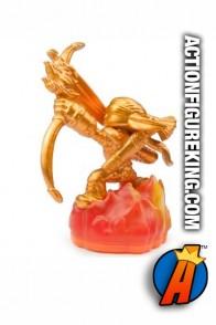 Skylanders Giants variant Gold Flameslinger figure from Activision.