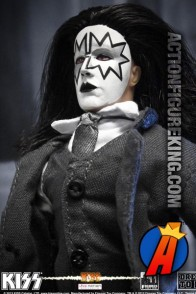 Fully articulated KISS Series Five 8-inch Dressed to Kill Spaceman action figure.