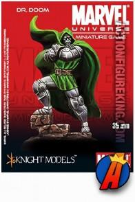 Marvel Universe DR. DOOM 35mm Figure from Knight Models.