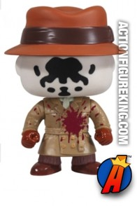 Funko Pop! Movies Watchmen San Diego Comicon exclusive Bloody Rorschach figure.