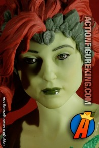 13 inch DC Direct fully articulated Poison Ivy action figure with authentic fabric outfit.