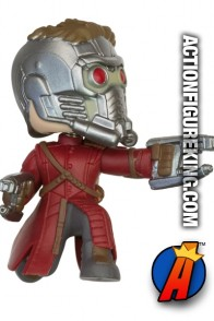 Funko Marvel Guardians of the Galaxy Mystery Minis Star Lord figure.