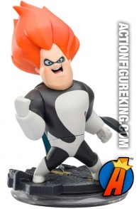 Full view of this Disney Infinity Incredibles Syndrome figure.