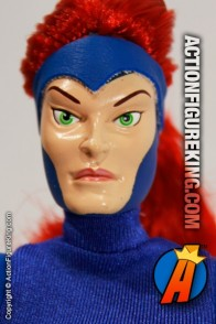 Marvel Comics Famous Cover Series 8 inch Jean Grey action figure with removable fabric outfit from Toybiz.