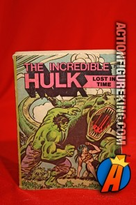 Hulk: Lost In Time A Big Little Book from Whitman.