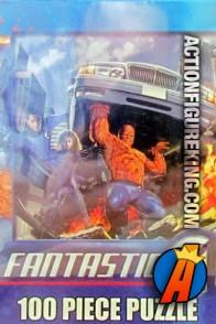 Pressman 100-Piece Fantastic Four Movie Jigsaw Puzzle.