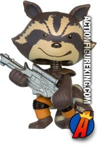 Guardians of the Galaxy Mystery Minis Rocket Raccoon figure.