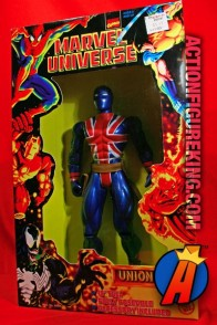 Articulated Marvel Universe 10-inch Union Jack action figure from Toybiz.