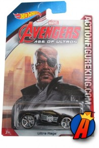 Avengers Age of Ultron Ultra Rage Nick Fury die cast vehicle from Hot Wheels.