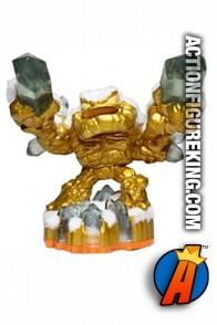 Skylanders Giants employee exclusive Gold Lightcore Prism Break figure.