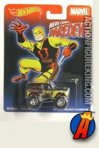 Daredevil 1967 Ford Bronco Roadster die-cast vehicle from Hot Wheels.