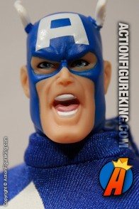 Marvel Famous Cover Series 8 inch Captain America action figure from Toybiz.