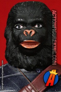 Mego Planet of the Apes 8 inch General Ursus action figure.