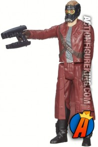 12-inch scale Titan Hero Series Star-Lord figure from Hasbro.