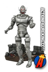 Fully articulated Marvel Select 7-inch Ultron action figure.