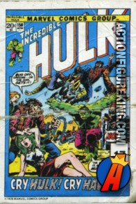17 of 24 from the 1978 Drake's Cakes Hulk comics cover series.