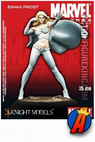 Marvel Universe 35mm EMMA FROST Metal Figure Knight Models.