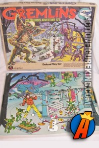 Gremlins Deluxe Playset from Colorforms.