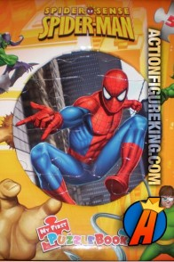 Spider-Man Spider-Sense My First Puzzle Book.
