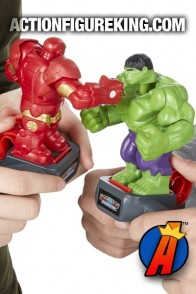 Marvel Battle Masters Hulk vs. Iron Man Figures