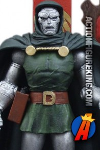 Fully articulated Marvel Select Doctor Doom action figure from Diamond.