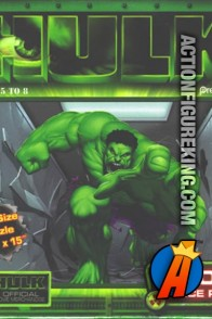 2003 Hulk 100-piece movie jigsaw puzzle from Pressman.