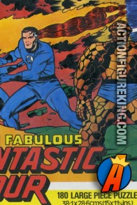 1977 Whitman UK import of The Fabulous Fantastic Four 180 large piece jigsaw puzzle.