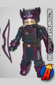 Marvel Minimates Dark Avengers Hawkeye figure with 14-points of articulation.