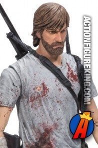 5-inch tall Rick Grimes action figure from The Walking Dead comic series 3 by McFarlane Toys.
