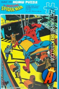 1976 Whitman The Amazing Spider-Man 200-piece jigsaw puzzle (4675).