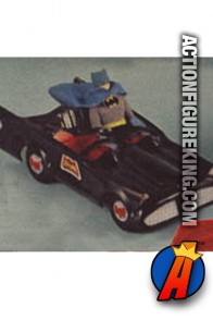 Mego 1/9th Scale Batmobile for their 8 inch Batman action figure.